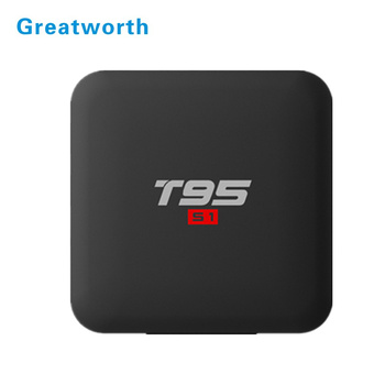 Greatworth T95 S1 Factory Android 7.1 TV Box Amlogic S905W 1GB 8GB 2GB 16GB Media Player quad core Full HD TV BOX t95S1