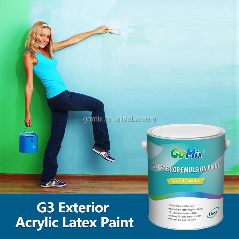 Premium Grade Long Durability G3 Best Acrylic Latex Exterior Paint Buy Best Acrylic Latex