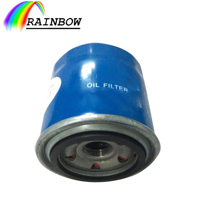 Generator großhandel auto öl filter 26300-35503 mit flache O ring für Hyundai