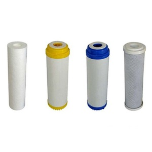 Phepus PP fiber +coconut shell active carbon+ro membrane + post Inline Carbon Filter