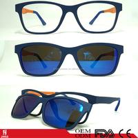 magnetic clip on sunglasses polarized lens super light ultem optical frame 2017 sunglasses