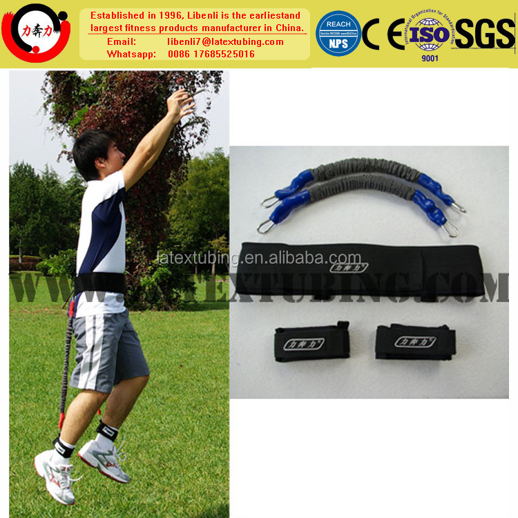 Top quality custom natural latex resistance band jumping exerciser made in China