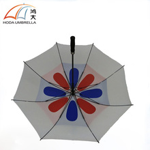 Vent windproof golf umbrella big promotion umbrella