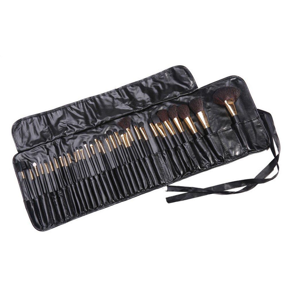 32pcs Wool + Synthetic Fiber Hair Cosmetic Brushes Set Pincel Maiagem Professional Make up Pinceis Maquiagem