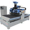 Double Carousel design 9kw air cooling spindle atc woodworking cnc router machine for sale