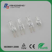 Cheap g4/g5.3 JC 6v 20w halogen bulbs