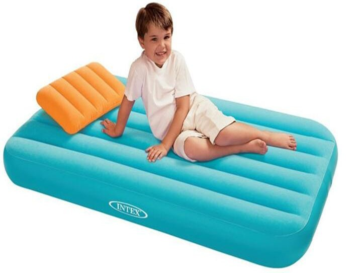 Intex 66801 Cozy Kidz Airbed Inflatable Air Bed For Kids ...