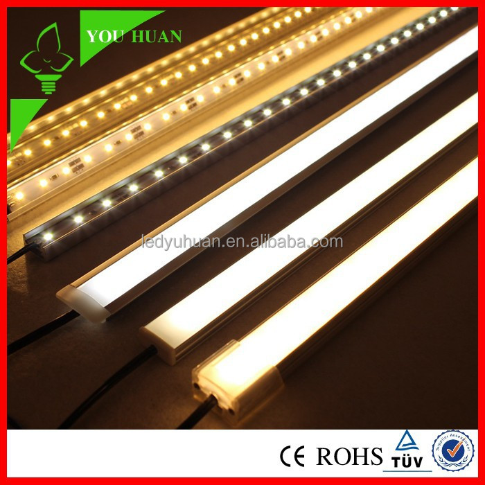Cinema stair LED light specially designed for stairs frosted/Clear cover 5050 LED strip inside 13W/m 12VDC/24CDC