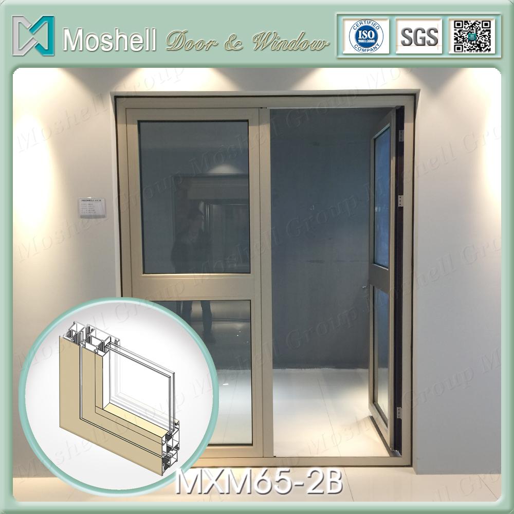 Factory Price Energy Efficient Bulletproof Glass Door And Window