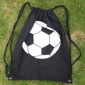 New Arrival Soccer Ball Drawstring Backpack Bag Free Shipping