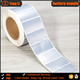 Excellent printing silver foil electronic paper price sticker label with free sample