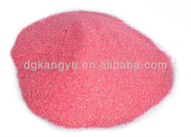 2014 guangdong polyester glitter powder for screen printing