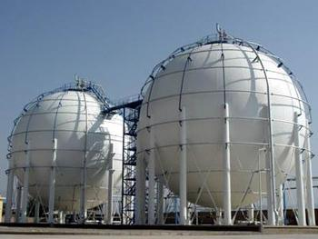 Sphere Storage Tank For Natural Gas Oil Transport