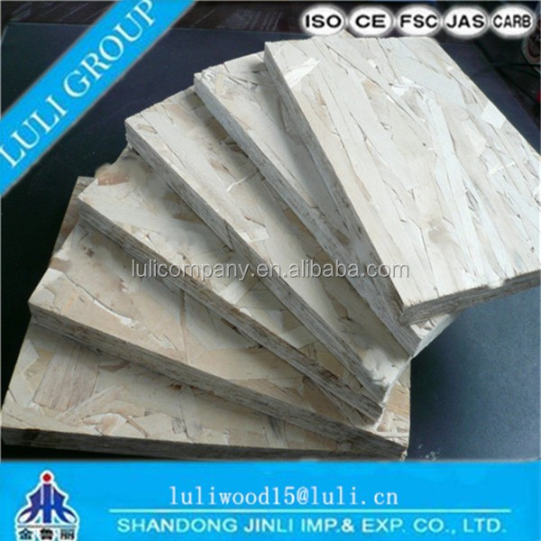 6mm WBP/MR/MELAMINE OSB for furniture
