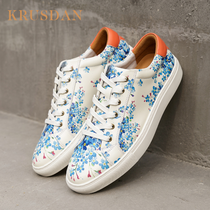 leather sneaker green 3D fashion china printing shoes Manufacturers AwqZ4Inn