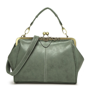 Fashion British style girl retro pu leather bag wholesale