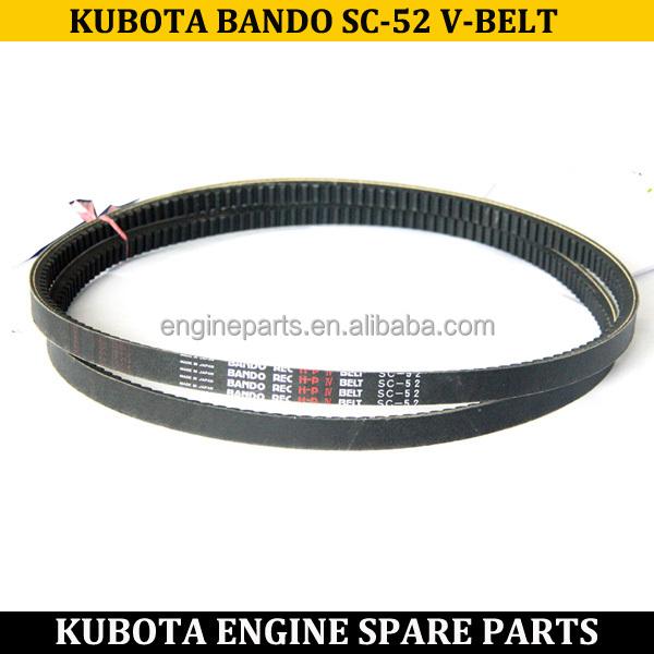 Kubota Engine Spare Parts Rec Hp4 Bando Sc52 V Belt Buy
