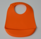 BPA Free Reusable Soft Waterproof Silicone plain baby bibs