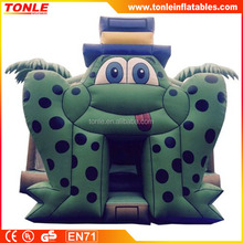 Commercial inflatable frog bounce house/frog inflatable jumping bouncer for sale