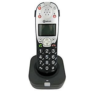 Amplicom 95408 PowerTel 701 Amplified Phone Expansion Handset