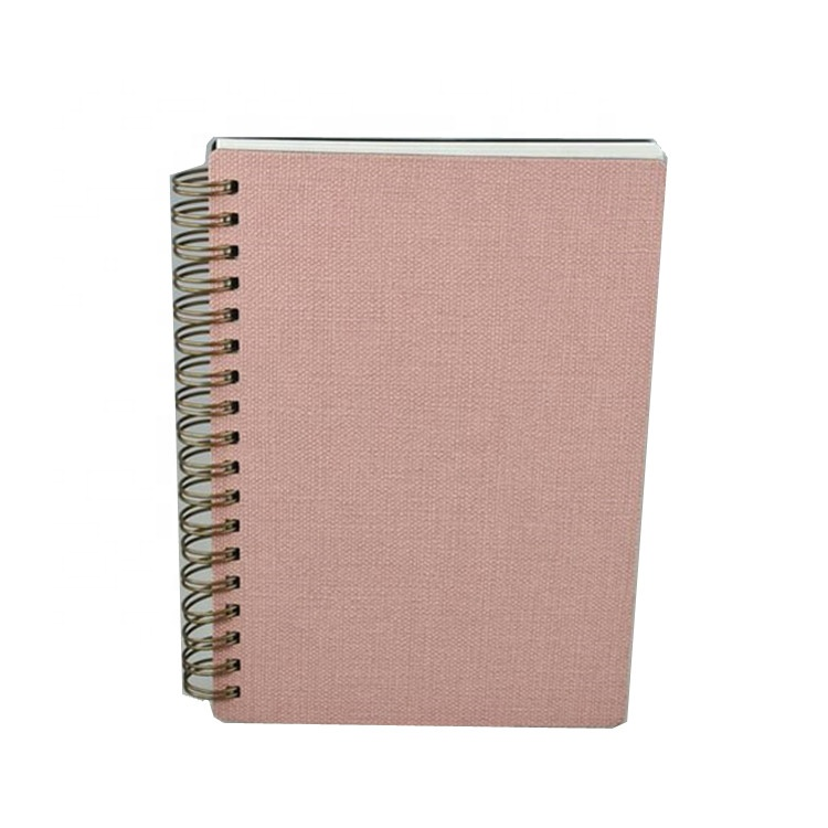 Personalised recycled fancy A5 spiral custom logo notebook hardcover