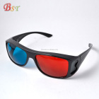 good quality low price plastic red green 3d glasses