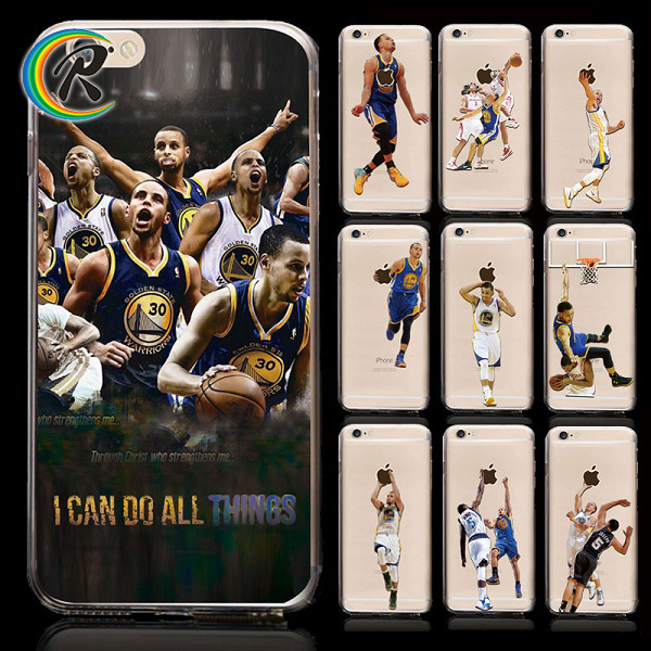 OEM NBA Basketball Star KOBE Pattern Phone case for iPhone 6 Silicone Soft TPU Gel