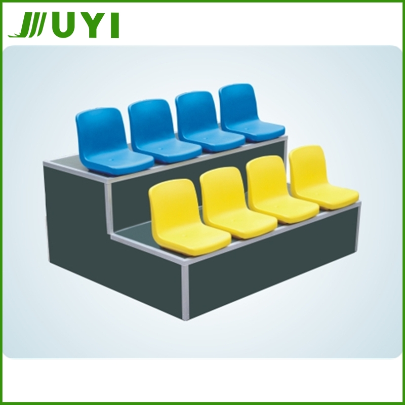 BLM-2711 Sports Stadium Seating Outdoor Event Seat Cushions Relax Plastic Armless Chair