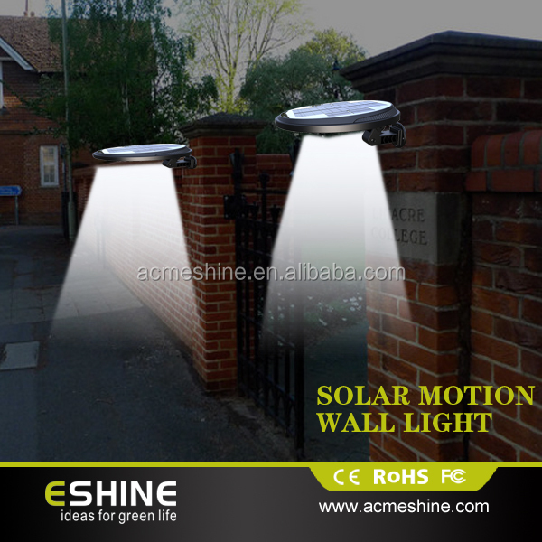 All In One Design Outdoor Solar Wall Light With Sensor Els-08 ...