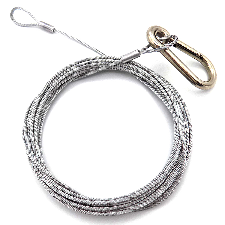 High quality 1.5mm Stainless steel wire rope  Sling Wire Rope Assembly Set With End loop