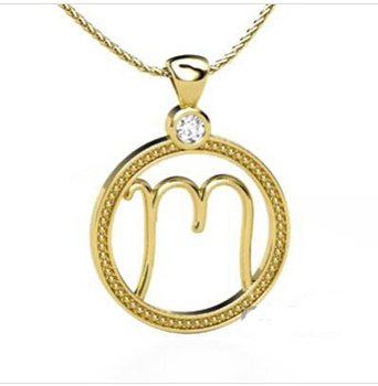 Best selling fashion design initial necklace 18k gold letter m best selling fashion design initial necklace 18k gold letter m pendant d2 0100 aloadofball Image collections
