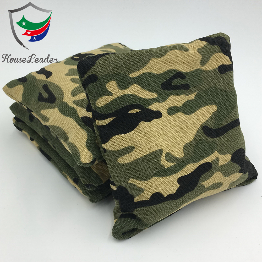 Custom design Camo Cornhole Bean Bag Toss Gioco