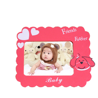 Cute Cartoon Dogs Logo Printed Baby Wooden Wholesale Photo Frames