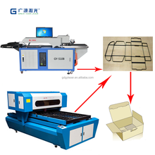 1000w flat wood cutting laser cutting machine 2PT,3PT mould knife thickness