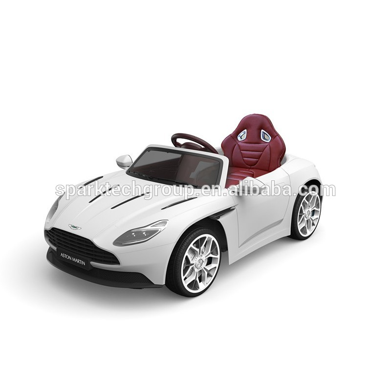 Sparkfun Luxury Licensed Aston Martin Vantage Kids Ride On Car With Eva Wheels Leather Seat Buy Aston Martin Vantage Luxury Car Luxury Kids Car Product On Alibaba Com