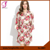 Fung 2801 Stock Available New Designer Knee Length Robe Cotton Ladies Floral