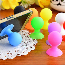 Mini octopus Silicone Funny Smart Phone Holder for Desk Lazy Mobile Phone Holder