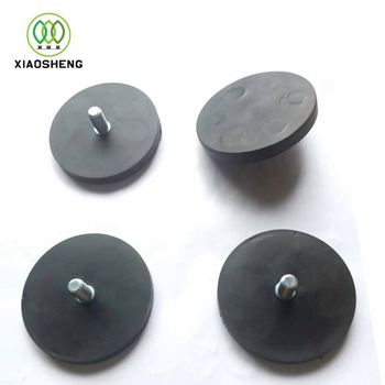 Stamp of rare earth coated magnetic hook magnets neodymium magnet rubber