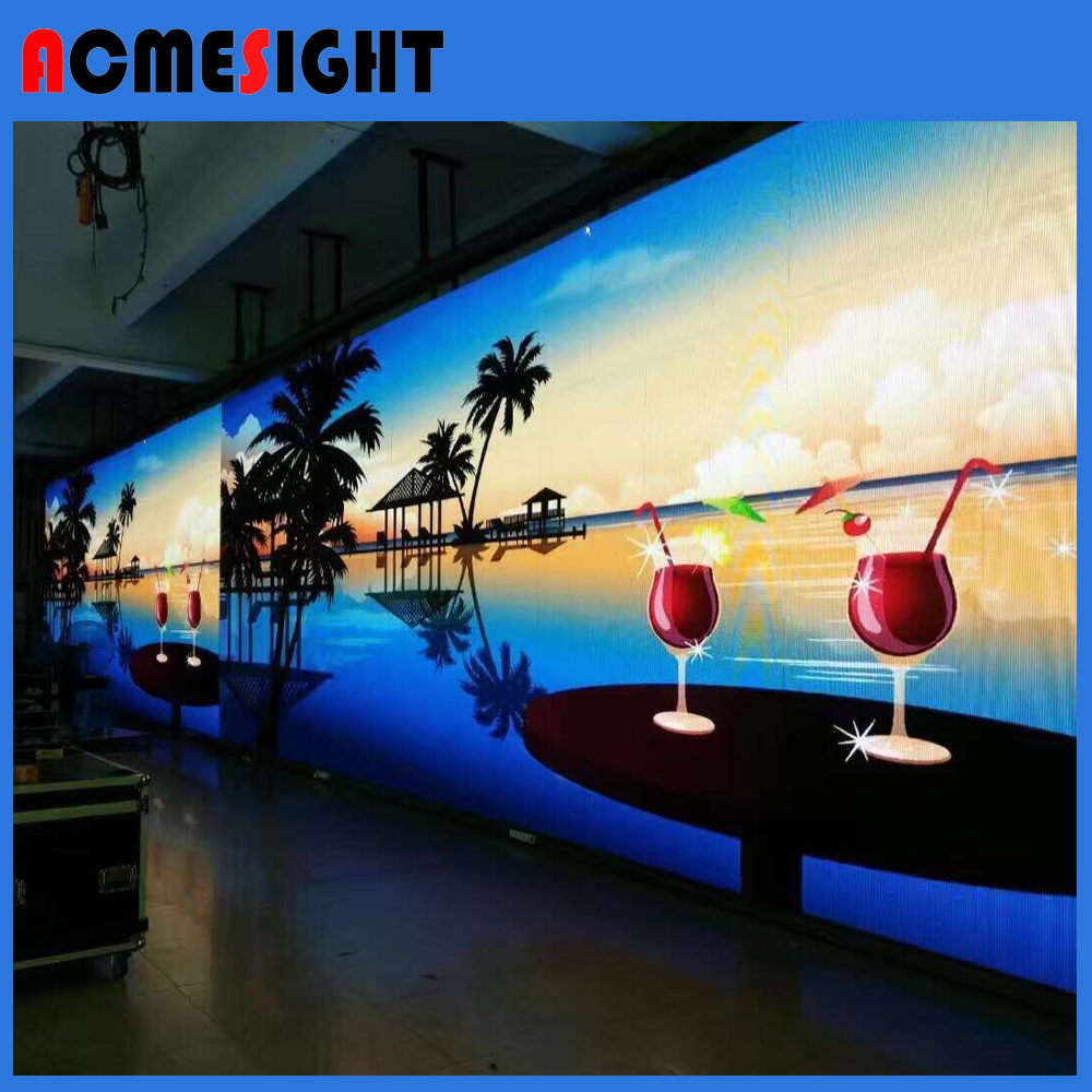P4.81 Outdoor Full Color Sport Perimeter LED display Screen/LED Video Wall P4.81