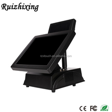 "Promotional cash register pos machine 15"" touch screen stand pc"