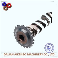 Camshaft for Engine Spare Parts/forging steel and chilled cast iron camshaft /camshaft
