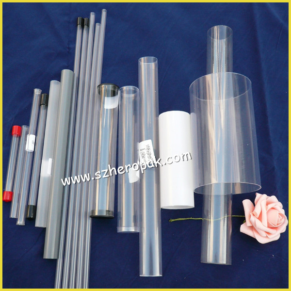 Factory ic clear plastic tube packaging see through