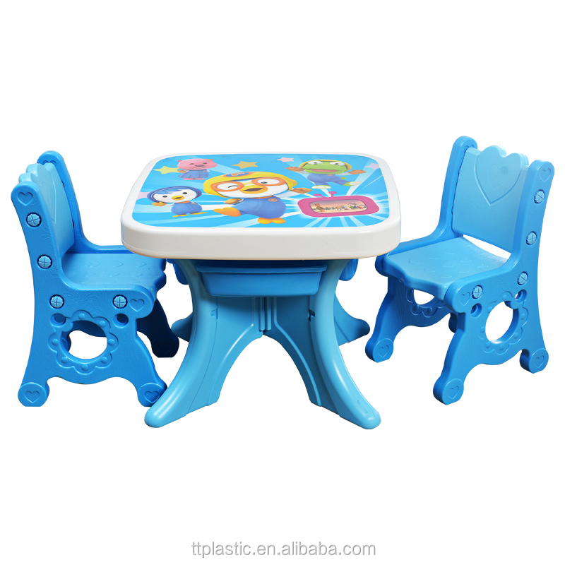 Ergonomic hot sale kids study table for kids chair and table