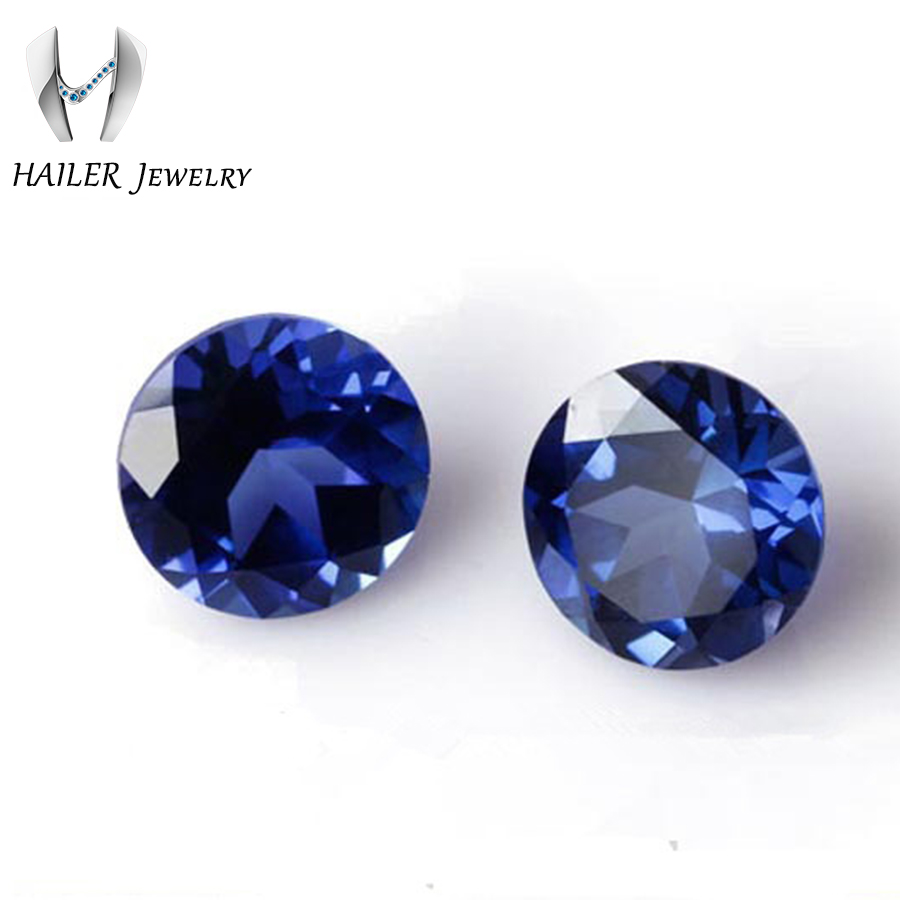 oval jaipur synthetic picture artificial en cts cut blue sapphire of diffusion