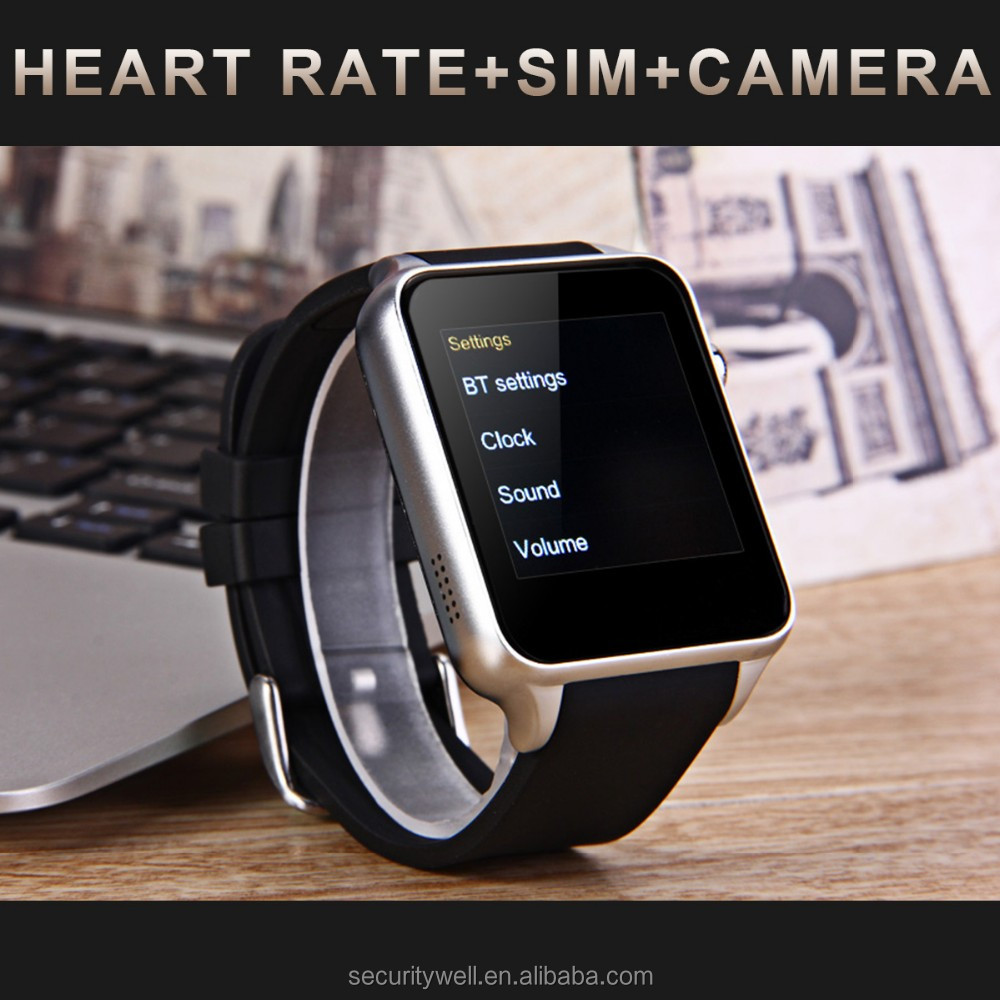 2017 Smart Android Phone watch with heart rate monitor