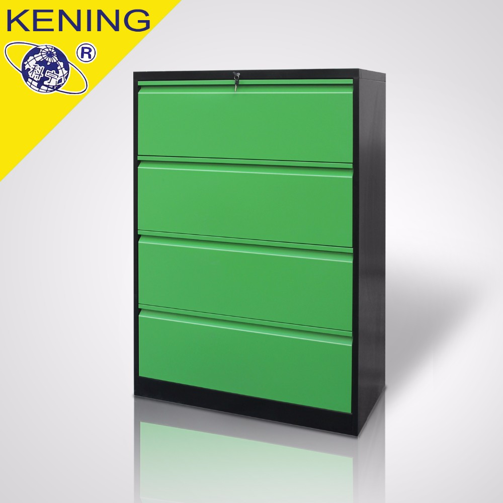 powder coating cheap lateral steel white 4 drawer file cabinet