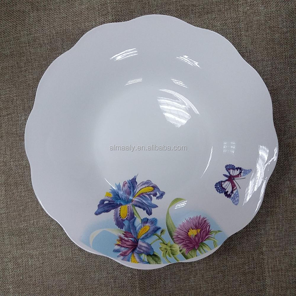 ceramic serving plate and dishes