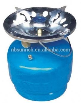 Portable Gas Stove Cylinders Single Burner Gas Stove