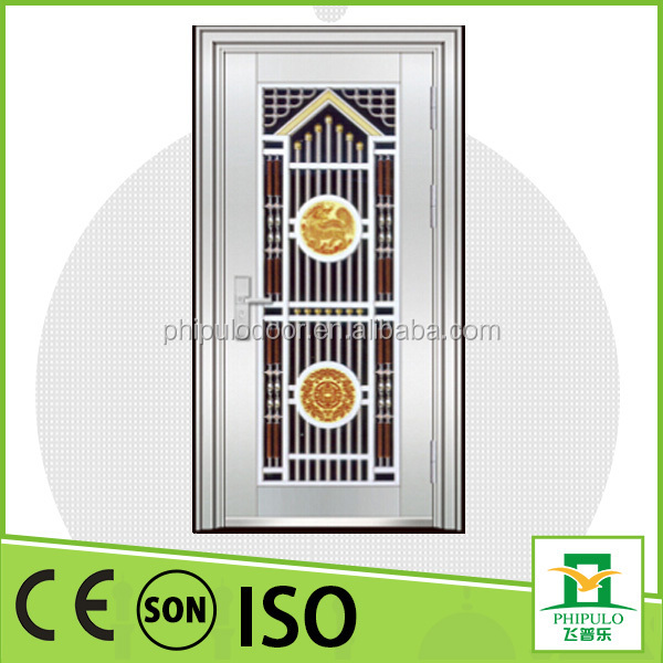 China Products Stainless Steel Door Design Iron Door Pictures For