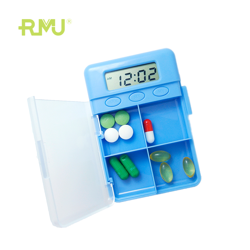 high quality new designed type pill dispenser with alarm photos